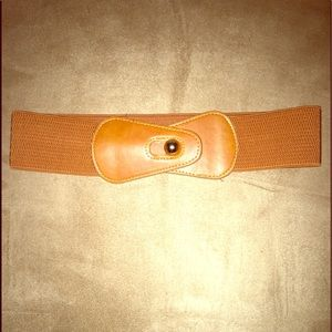 Accessories - Burnt Orange Belt/ Gold Hardware